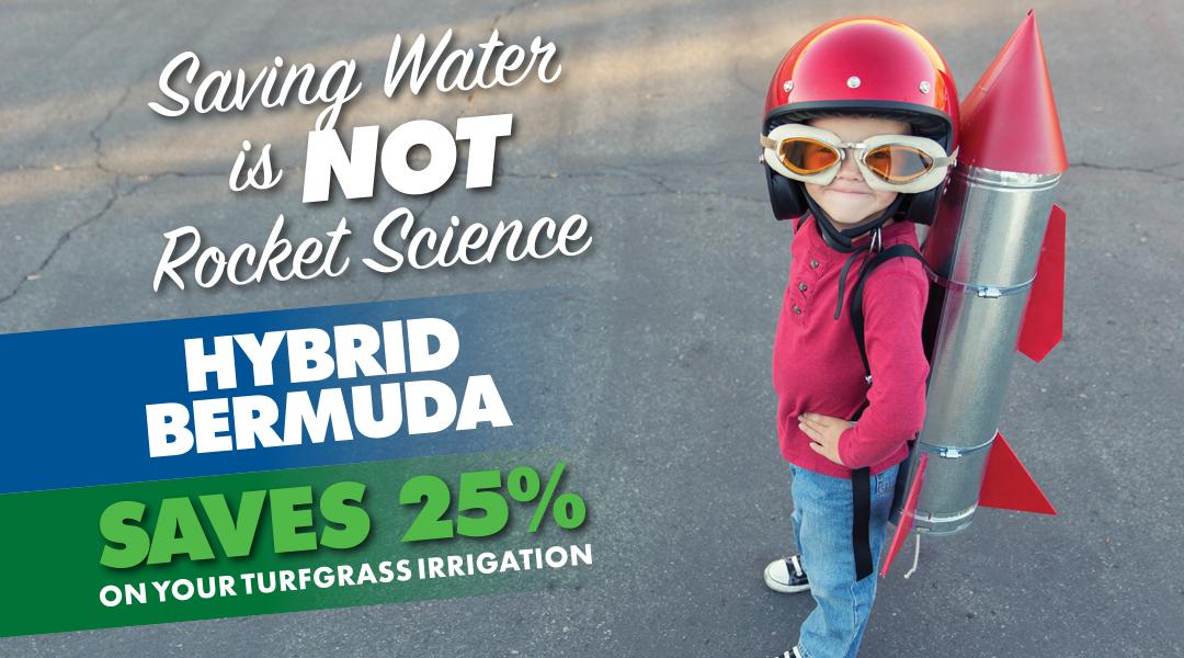 Saving water is NOT rocket science